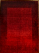 Persian Gabbeh, Two Tone Red