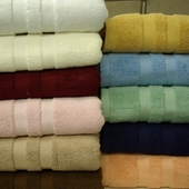 100% Egyptian Cotton Bath Mats-Combed-Solid-2