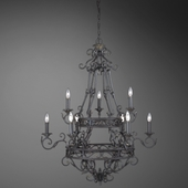 Oxton- 9 Light Chandelier