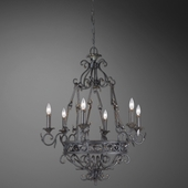 Oxton- 6 Light Chandelier
