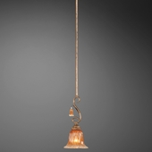 Serena- 1 Light Pendant, Design 2