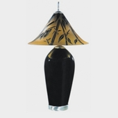 Black Branches Lamp
