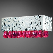 Michaela- 1 Lt Wall Sconce<br>Chrome w/ Faceted Crystal