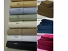 100% Egyptian Cotton Sheet Set-600tc-Waterbed-Attached