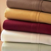 100% Egyptian Cotton Sheet Set-Microfiber-Solid-Split