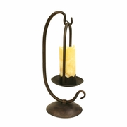 Single Table Lamp with Onyx Stone Shade
