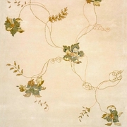 Leaf Hand Tufted Area Rug