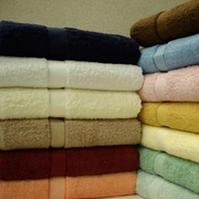 100% Egyptian Cotton Bath Sheets-Combed-Solid-2