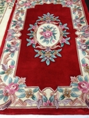 Red 3x5 Handknotted Rug