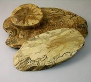 Spaulted Maple Oval Boards