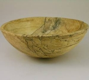Spaulted Round Bowl