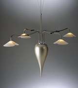 Pearl Teardrop Chandelier
