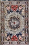 Wool & Silk Contemporary Tabriz