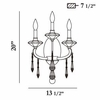 Roxy- 3 Light Wall Sconce