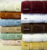 100% Egyptian Cotton Towel Set-Stripped  Velour-6PC