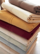 100% Egyptian Cotton Sheet Set-300tc-Solid-Waterbed With Pole Attachments