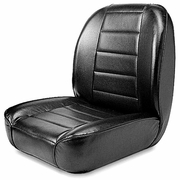 Black Rugged Ridge Low Back Front Bucket Seat