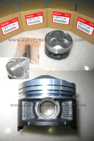 JDM Honda PCT Type R Piston Sets 0.25 Over Size