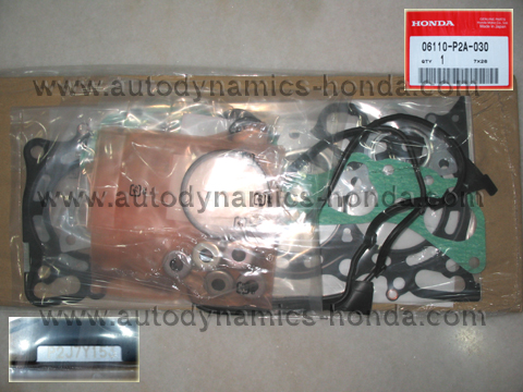 Honda P2A Cylinder Head Gasket Overhaul Set