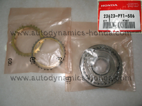 Honda PY1 Sleeve Set Synchronizer (3rd- 4th)