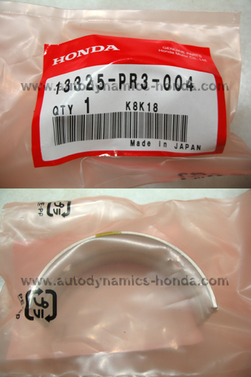 Honda PR3 Upper Main Bearing E