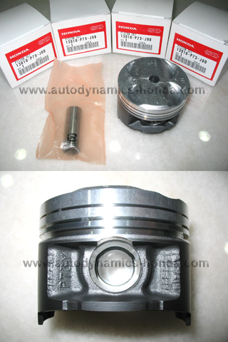 JDM Honda P73 Type R Piston Sets Standard Size