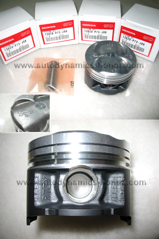 JDM Honda P73 Type R Piston Sets 0.25 Over Size