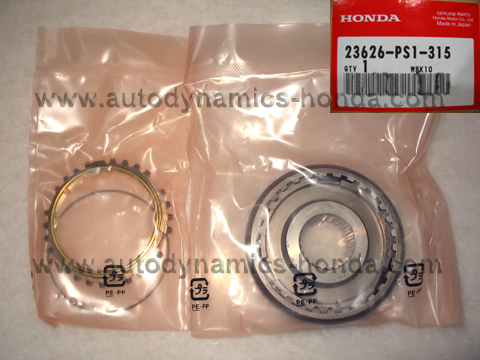 Honda PS1 Sleeve Set Synchronizer (5th)