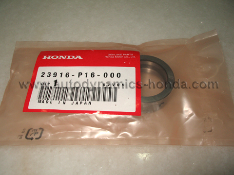 Honda P16 Mainshaft Distance Collar