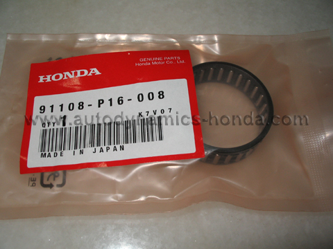 Honda P16 Mainshaft Distance Collar Needle Bearing