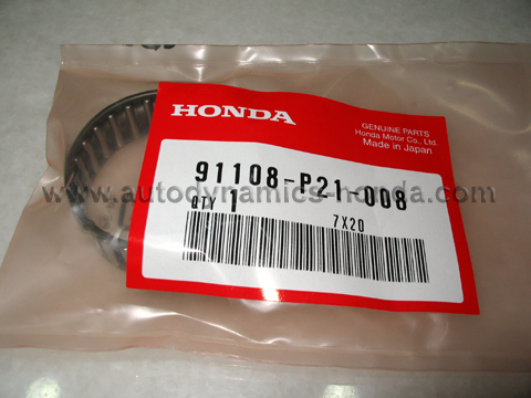 Honda P21 Mainshaft Distance Collar Needle Bearing