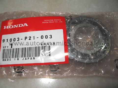 Honda P21 PL3 Countershaft Ball Bearing