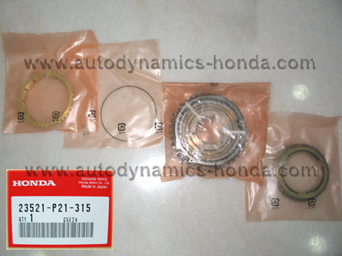 Honda P21 Sleeve Set Synchronizer (1st - 2nd)