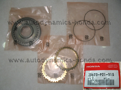 Honda P21 Sleeve Set Synchronizer (3rd - 4th)