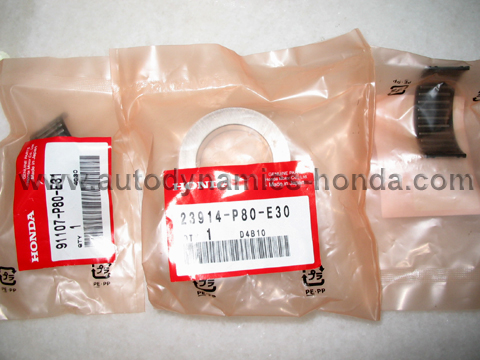 Honda P80-E30 Countershaft Collar Ring & Needle Bearings Set