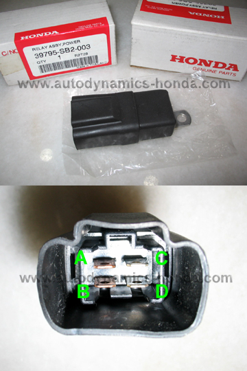 Honda SB2 Power Relay Assembly