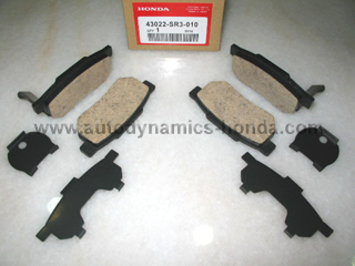Honda SH3 SF1 SK7 SR3 ST7 Rear Brake Pad Set