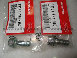 Honda SN7 Rear Brake Caliper Mounting Bolts