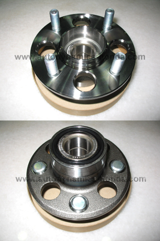 Honda S04 SR3 SB2 Rear Wheel Bearing Hub Assembly Non-ABS Drum