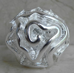 Alura  Silver Collection Silver Flower Ring