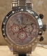 Toy Watch Chronograph Gunmetal Watch