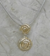 Michou Corazon Collection Swirl Necklace