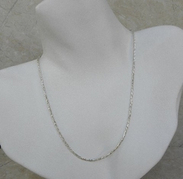 Michou Sterling Silver Double Coil Necklace