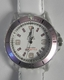 IKE Lifestyle Watch Pink & White Leather Strap
