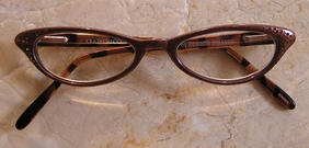 Kenneth Jay Lane Readers Copper & Crystals