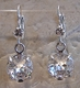 Otazu Earrings Clear Crystal Drop