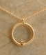 Dogeared Karma Luxe Necklace Gold