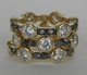Freida Rothman Starry Night Stacking Rings Set of 3