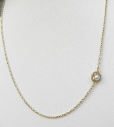 """NYLA STAR Necklace Pearly Girl 16"""""""