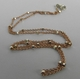 Argento Vivo Beaded Chain Rose Gold Necklace